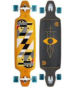 Gold Coast Serpentagram Longboard Complete Yellow