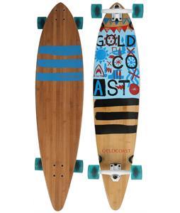 Gold Coast Shaka Tack Floater Longboard Skateboard Complete