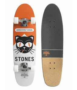 Gold Coast Softpack Longboard Skateboard Complete