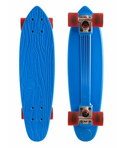 Gold Coast Whizz Longboard Skateboard Complete Blue 6.5x24