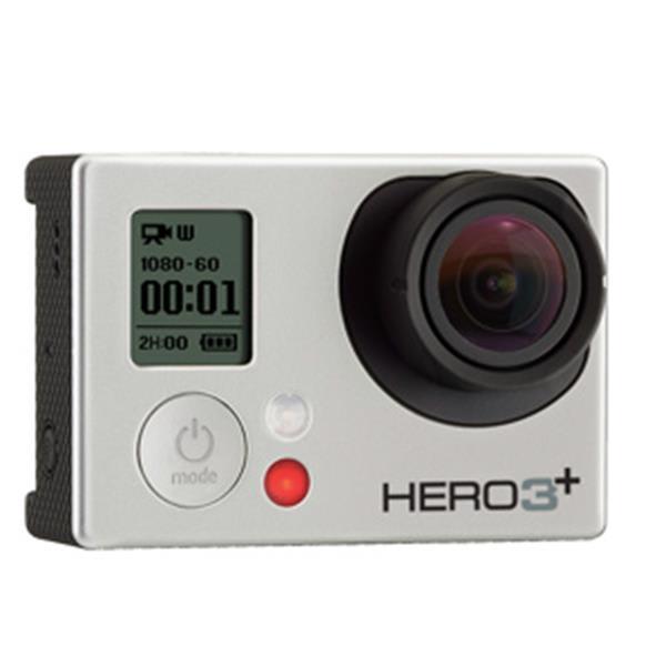 Gopro Hero3+ Camera Silver Edition