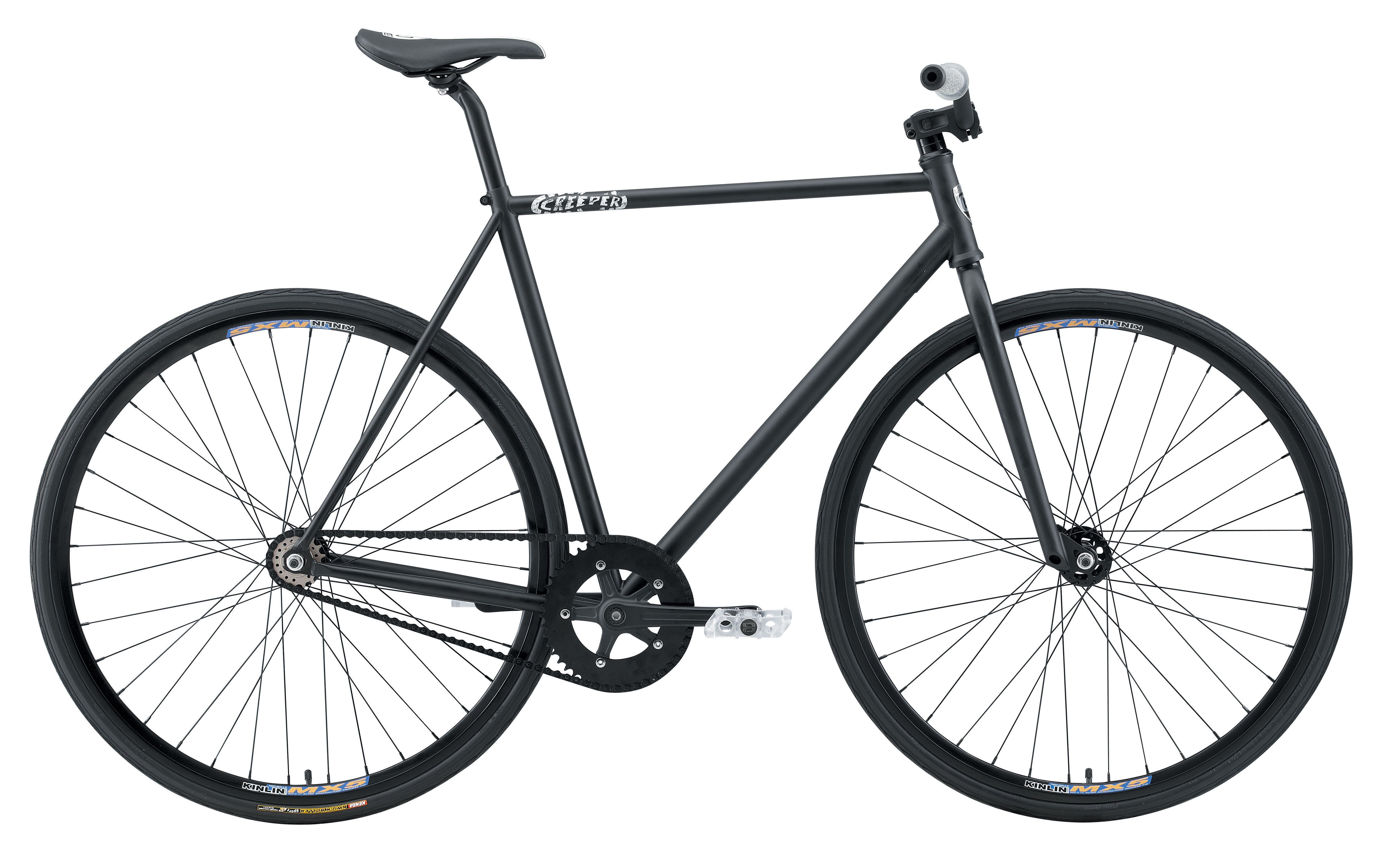 Gran Royale Creeper Fixed Gear Bike 700C Black 56cm/22in