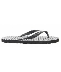 Gravis A-Bah Sandals Black White