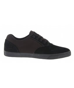 Gravis Arto Skate Shoes Black Suede