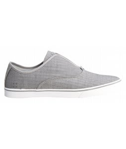 Gravis Dylan Skate Slip On Shoes Grey Herringbone