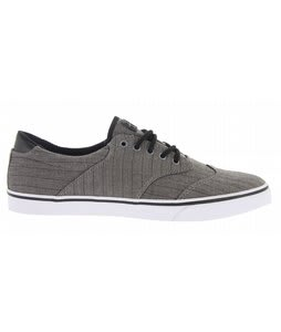 Gravis Filter Wingtip Skate Shoes Steel Gray Pinstripe