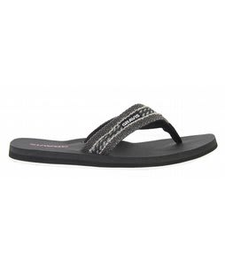 Gravis Hemperpedic Sandals Blk Fire