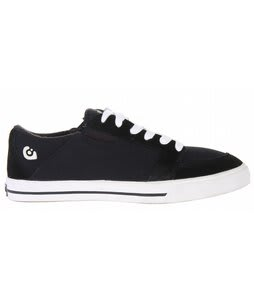 Gravis Lowdown Skate Shoes Black Canvas