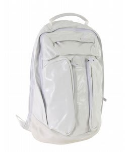 Gravis Metro Black Box Backpack White Leather