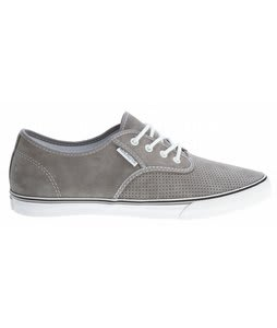 Gravis Slymz Suede Shoes Frost Grey