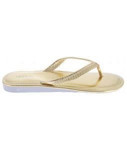 Gravis Teba Sandals Gold