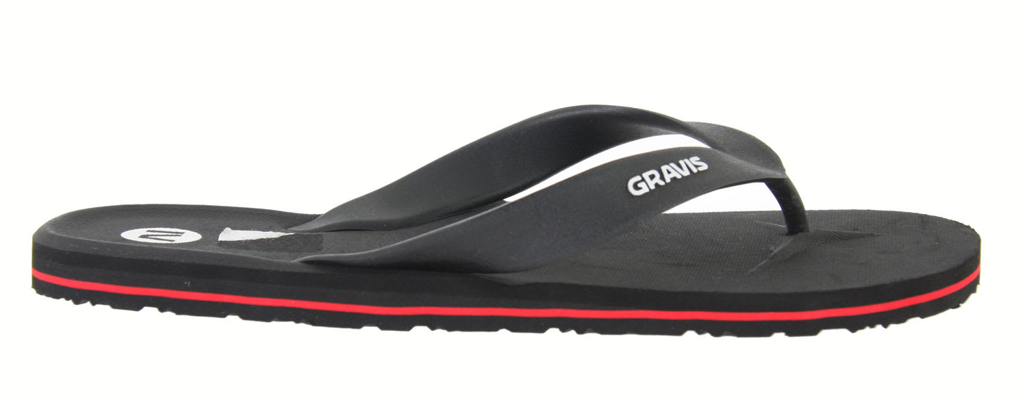 Shop for Gravis Waterpipes Sandals Black - Men's