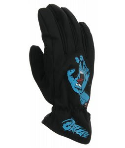 Grenade Screaming Hand Gloves Black