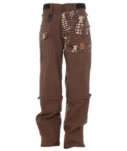 Grenade Stryker Snowboard Pants Brown