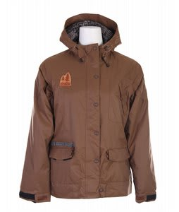 Grenade Alberta Snowboard Jacket Brown