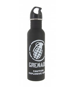 Grenade Waterbottle Black/Matte White