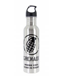 Grenade Waterbottle Stainless Black 