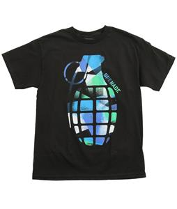 Grenade Abstract Bomb T-Shirt Black