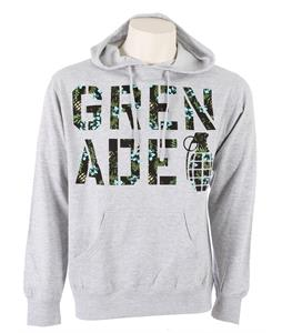 Grenade Aloha Hoodie Heather Gray
