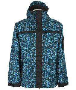 Grenade Animal House Snowboard Jacket Aqua