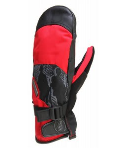 Grenade Apache Mittens Red