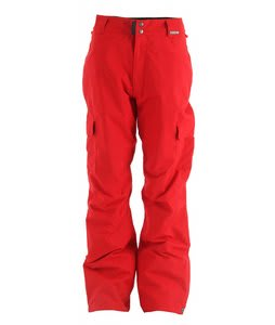 Grenade Army Corps Snowboard Pants Red