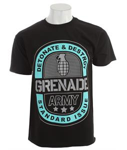 Grenade Army Emblem T-Shirt Black