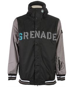 Grenade Baseball Snowboard Jacket Black
