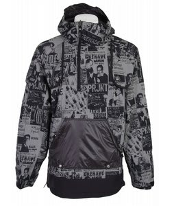 Grenade Basic Training Pullover Jacket  Black