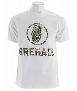 Grenade Battle Camo T-Shirt White