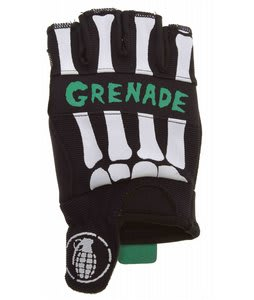 Grenade Bender Fingerless Bike Gloves Black/Teal