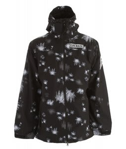Grenade Blast Camo Snowboard Jacket Black