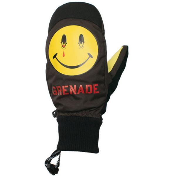 Grenade Blazed Mittens