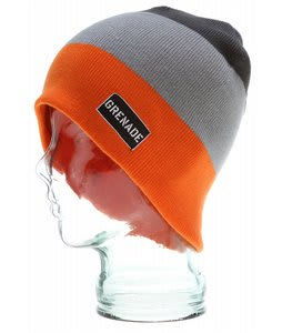 Grenade Block Head Beanie Orange