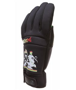 Grenade Bob Gnarly Gloves Black