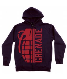 Grenade Bomb Hoodie Black