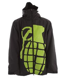Grenade Bomb Snowboard Jacket Black