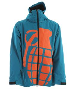 Grenade Bomb Snowboard Jacket Teal