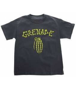 Grenade Bones T-Shirt Charcoal