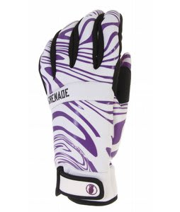 Grenade Brainwasher Gloves Purple