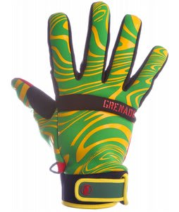 Grenade Brainwasher Gloves Rasta
