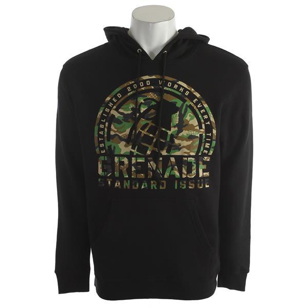 Grenade Camo Crop Hoodie