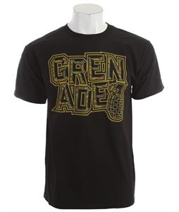 Grenade Camo Tilt T-Shirt Black