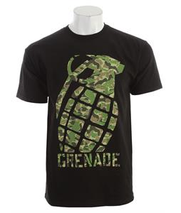 Grenade Camo Block T-Shirt Black