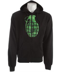 Grenade Chemical Stamp Hoodie Black
