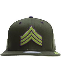 Grenade Chevron Cap Army