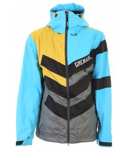 Grenade Chevron Snowboard Jacket Sullen/Blue