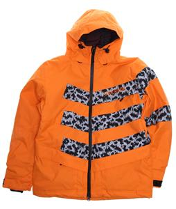 Grenade Chevron Snowboard Jacket Orange