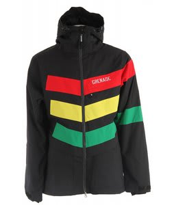 Grenade Chevron Snowboard Jacket Rasta
