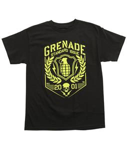 Grenade Coat Of Arms T-Shirt Black